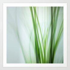Grass / Green Whispers Art Print