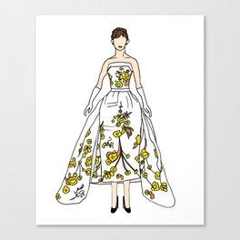 Audrey 12 Canvas Print