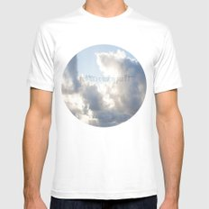 On Earth there is no Heaven ♥ Mens Fitted Tee MEDIUM White
