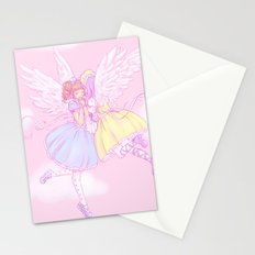 Sweet lolita angels Stationery Cards