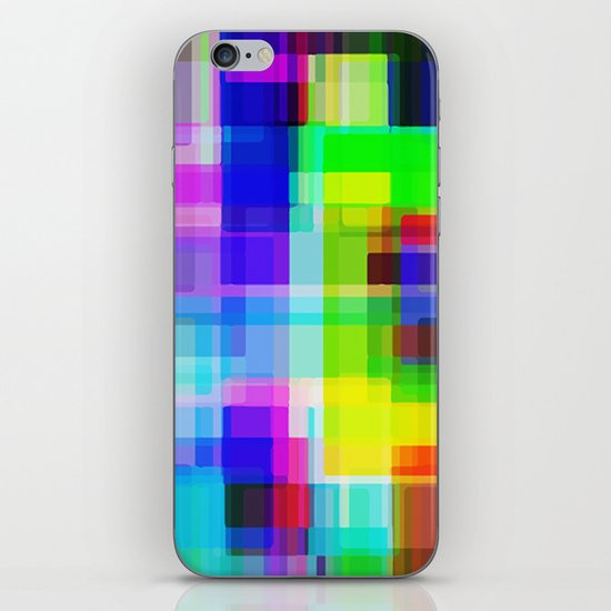 Colors#11 iPhone & iPod Skin