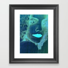 Yael the warrier of peace Framed Art Print