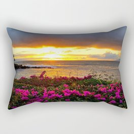 West Maui Sunset Rectangular Pillow