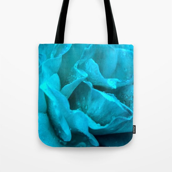 Blue Drops Tote Bag