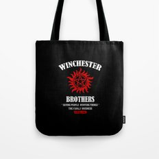 Winchester Brothers Tote Bag