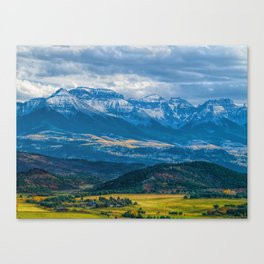 Outside of Ridgway Canvas Print