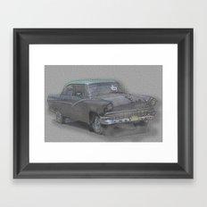 amcar 1 Framed Art Print