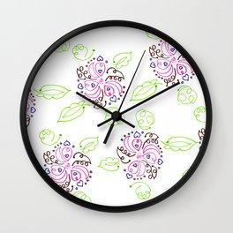 Marker Art 76 Wall Clock