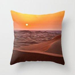 Sun desert 4 Throw Pillow