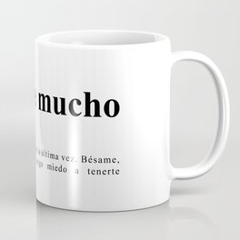 Bésame mucho Coffee Mug