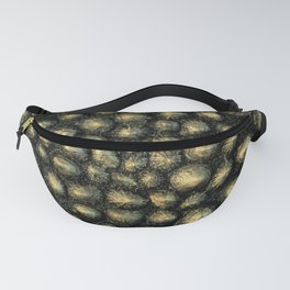 Neo Gold Sea Shell Fanny Pack