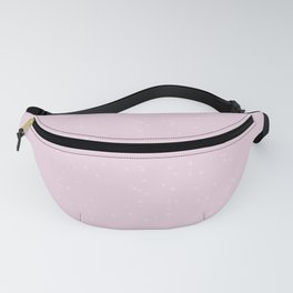 Light Pink Shambolic Bubbles Fanny Pack