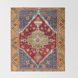Çal Southwest Anatolian Rug Print Throw Blanket