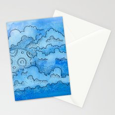 Baby Blue Dreamin Stationery Cards