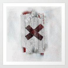 Cross my heart and hope .... Art Print