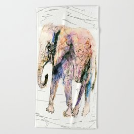 elephant queen - the whole truth Beach Towel