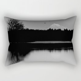 Mound Hood Reflection II Rectangular Pillow