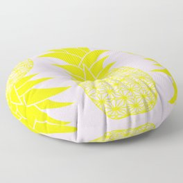 Ananas baby pink Floor Pillow