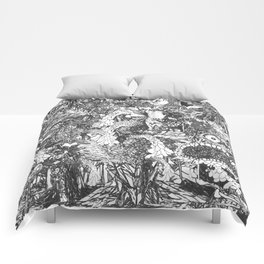 Monster Forest Comforters