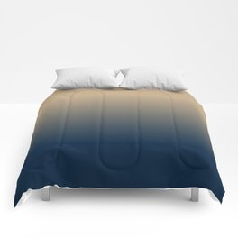 Midnight Sonata in Blue Comforters