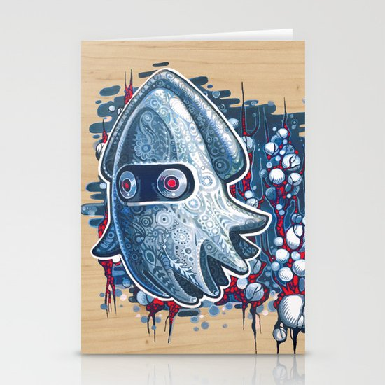 A GHOST IS BORN Stationery Cards