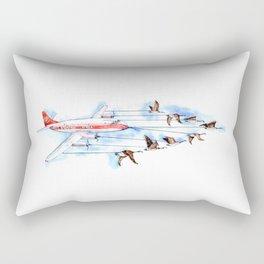 Air Canada Goose Rectangular Pillow