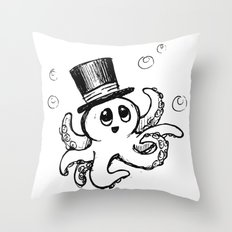 Octie from Monterey Buddies Throw Pillow