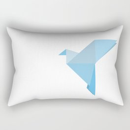 Taking Flight Origami Rectangular Pillow