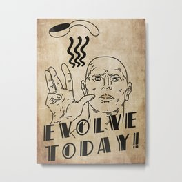Evolve Today - Telekinesis  Metal Print