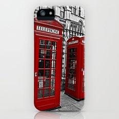 London phone home iPhone (5, 5s) Slim Case