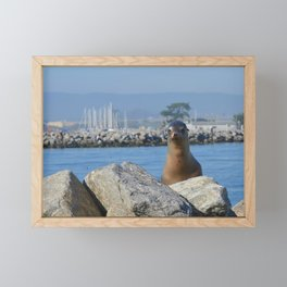 slough buddy Framed Mini Art Print