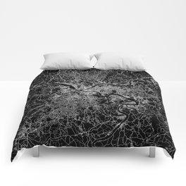 pittsburgh map Comforters