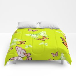Tiger and Butterflies Comforters