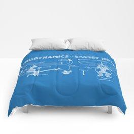 The Aerodynamics of a Basset Hound Comforters