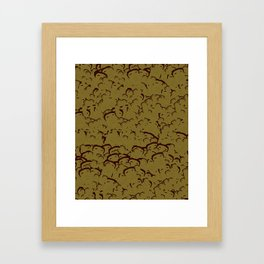 Mateo Scattered Print Framed Art Print