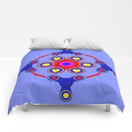 Fidget Spinner Design version 4 Comforters