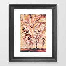 Grans problemes Framed Art Print