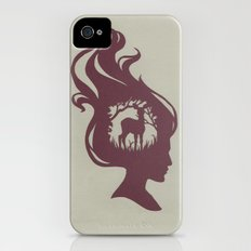 Deer Girl Slim Case iPhone (4, 4s)