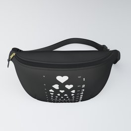 Can you see the love? Fanny Pack