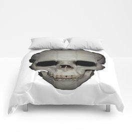 Human Skull Vector Isolated Comforters
