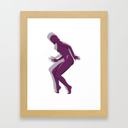 MagentaLady_3 Framed Art Print