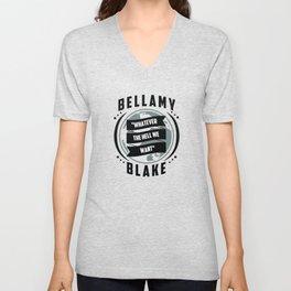 The 100, Bellamy Blake Unisex V-Neck