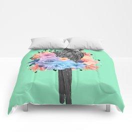 Floral Bird Comforters