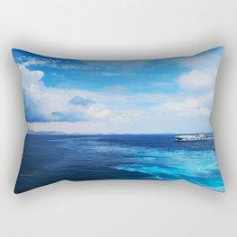 50 shades of Blue i Rectangular Pillow
