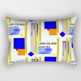 """Cocktail """"L"""" - Long Island Iced Tea Rectangular Pillow"""