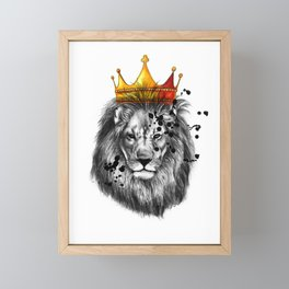 lion king Framed Mini Art Print