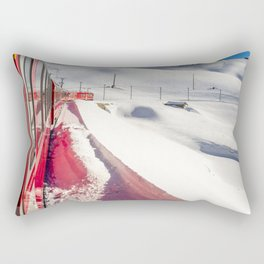 Bernina Express. Rectangular Pillow