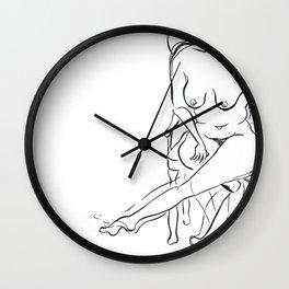 Comfortable Nude Wall Clock
