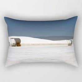 Picknick At White Sands Rectangular Pillow