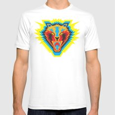 Roar Mens Fitted Tee White MEDIUM